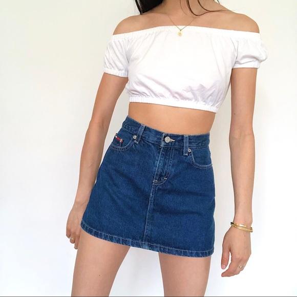 Tommy Hilfiger Dresses & Skirts - Vintage Tommy Jeans Denim Skirt